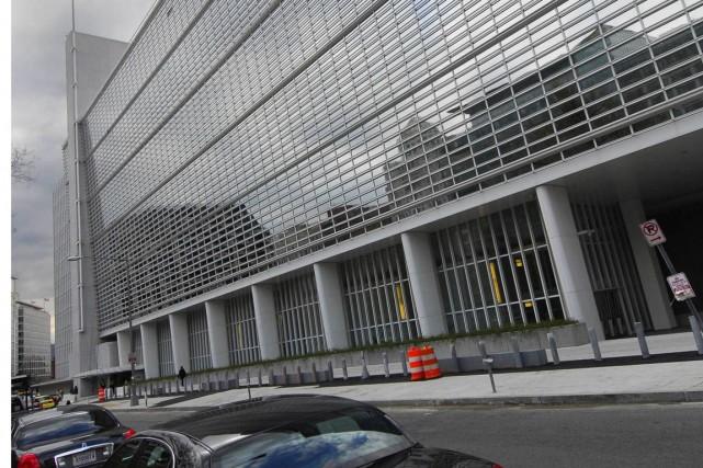 La Banque mondiale emploie quelque 9000 personnes à... (Photo Archives Bloomberg News)