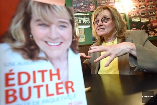 Édith Butler a confié à son amie et... (IMACOM, MAXIME PICARD)