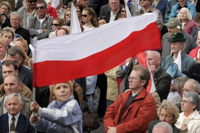 Le taux de natalité s'élève actuellement en Pologne... (Archives AFP)