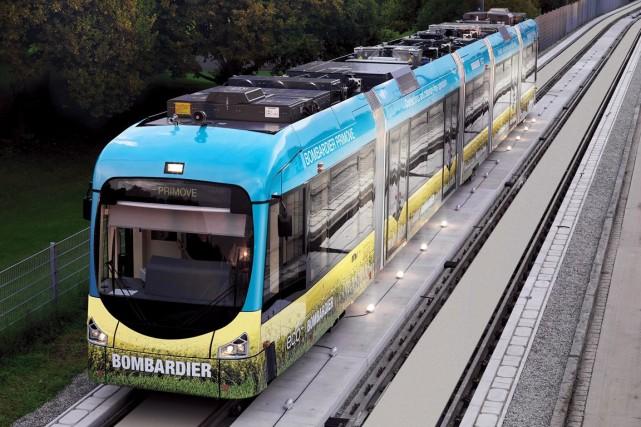 Bombardier Transport a annoncé mercredi avoir décroché un... (Photo fournie par Bombardier)