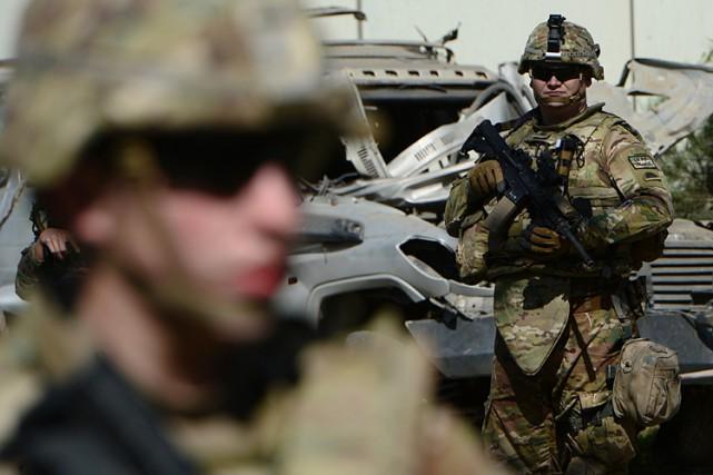 Les États-Unis vont ralentir leur rythme de retrait d'Afghanistan en 2015 à la... (Photo: AFP)