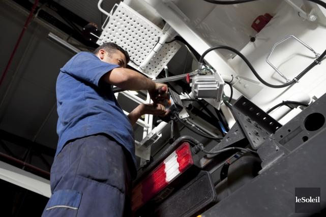 Les métiers en mécanique sont parmi ceux qui... (Photothèque Le Soleil)
