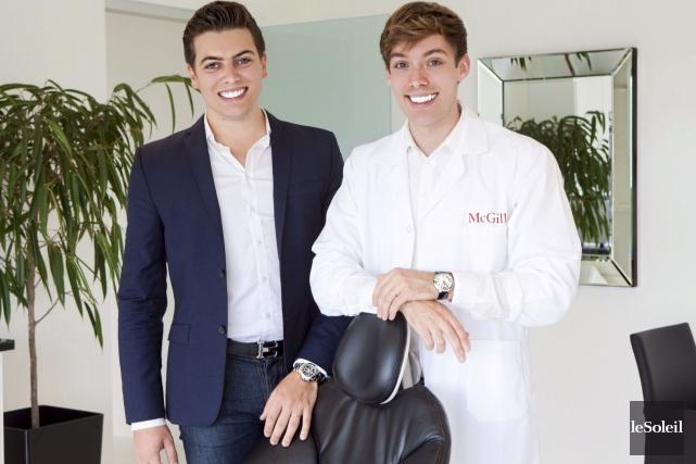 Âgés dans la vingtaine, les deux entrepreneurs William... (Le Soleil, Caroline Grégoire)