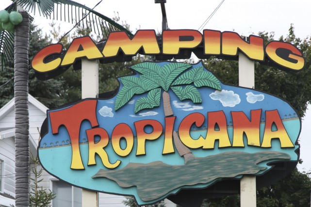 Oubliez le camping Tropicana; il deviendra le camping... (photo Alain Dion)