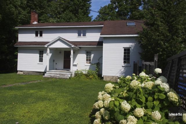 La maison du fondateur Paul Holland Knowlton devrait... (photo archives La Voix de l'Est)