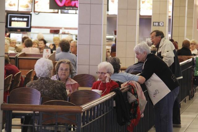Dans notre région, le vieillissement de la population... (photo Janick Marois)