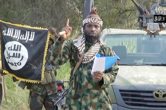 «Nous dirigeons notre califat, notre califat islamique. (...)... (IMAGE ARCHIVES AFP/BOKO HARAM)