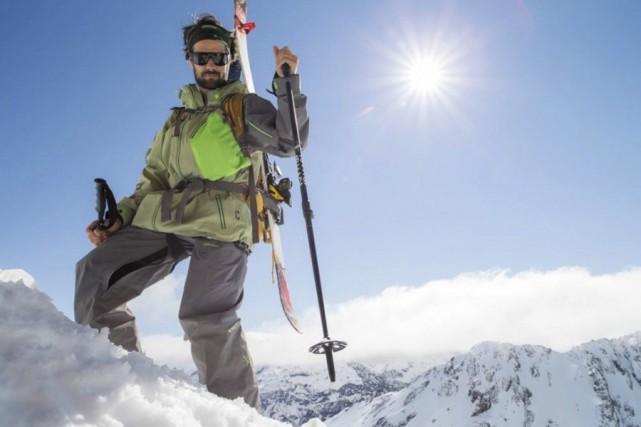 Le skieur Jean-Philippe Auclair était en expédition au... (Photo tirée de Facebook)