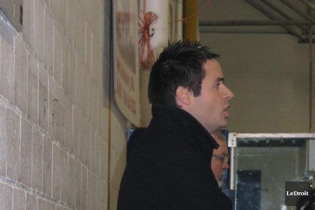 Martin Dagenais, l'entraîneur gérant des Sénateurs d'Ottawa dans... (Yvon Legault, LeDroit)