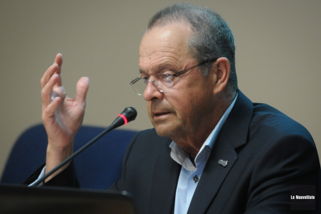 Alain Drouin, maire de Nicolet, se retire du... (Photo: François Gervais, Le Nouvelliste)