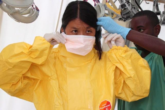 La présidente de Médecins sans frontières, Dre Joanne... (PHOTO P.K. LEE, ARCHIVES PC/MSF)