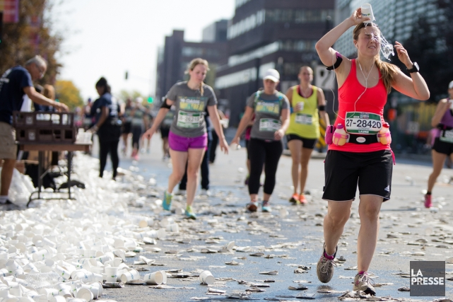 Aux dernières nouvelles, les organisateurs du Marathon de... (Photo Simon Giroux, La Presse)