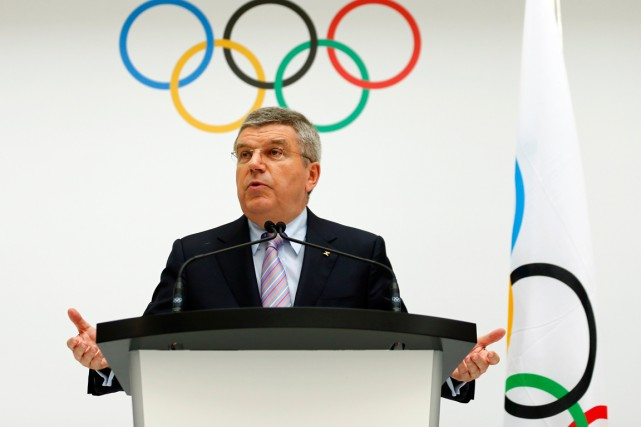 Le président du Comité international olympique, Thomas Bach.... (Photo Denis Balibouse, archives Reuters)