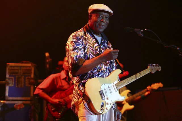Buddy Guy... (Photo: archives AP)