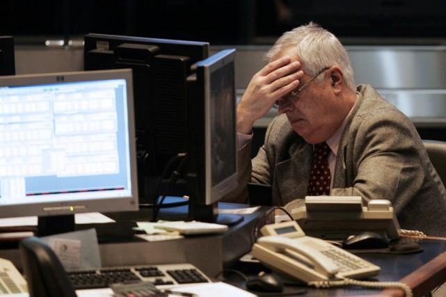 La bourse de Buenos Aires a fortement baissé jeudi, pour la 2e journée... (Photo archives Reuters)