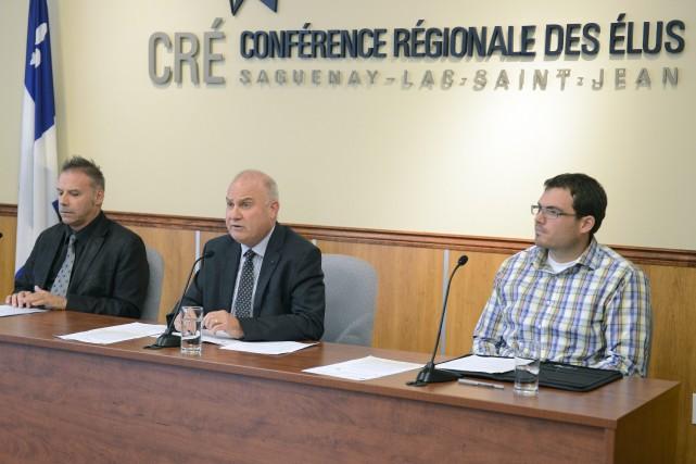 André Paradis, président de la Conférence régionale des... ((Photo Jeannot Lévesque))