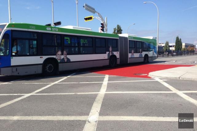 La Société de transport de l'Outaouais (STO) a annoncé, jeudi, des mesures... (Patrick Woodbury, LeDroit)