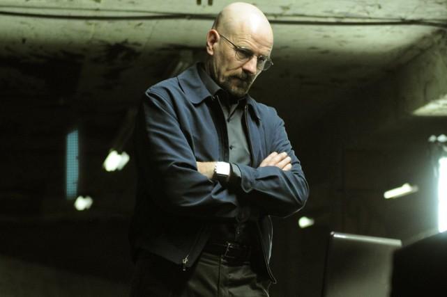 Walter White de l'émission Breaking Bad est l'un... (Fournie par AMC)