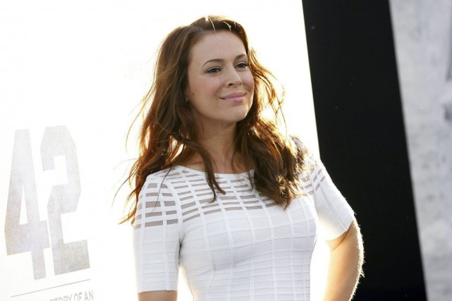 Alyssa Milano... (Photo: archives Reuters)