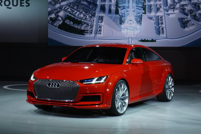 Le prototype Audi TT Sportback... (Photo fournie par Newspress)