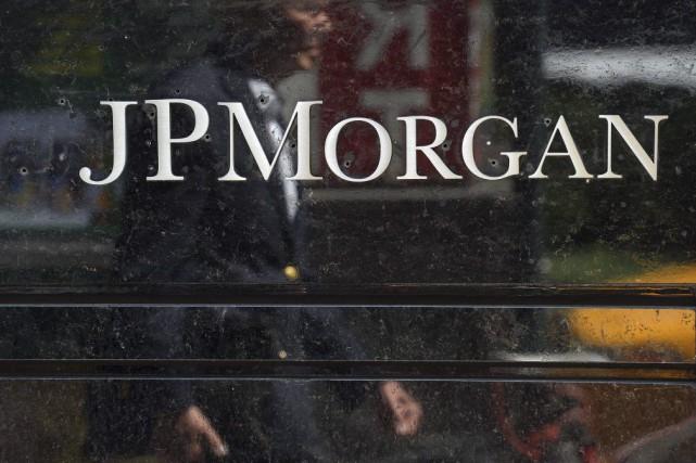 JPMorgan affirme n'avoir pas été victime d'une deuxième... (PHOTO EMMANUEL DUNAND, ARCHIVES AFP)