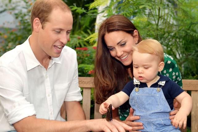George, qui a 14 mois, est le troisième... (Photo JOHN STILLWELL, Archives AFP)