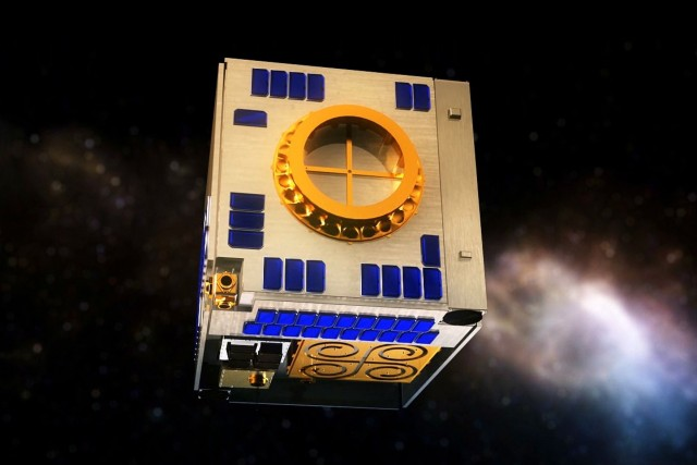 Le satellite M3Mdevait d'abord être lancé à bord... (Photo PC)