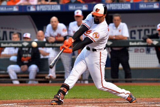 Nick Markakis... (Photo Tommy Gilligan, USA Today Sports)