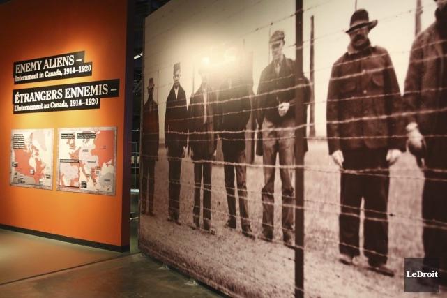 La nouvelle expostion du Musée canadien de la... (Patrick Woodbury, LeDroit)