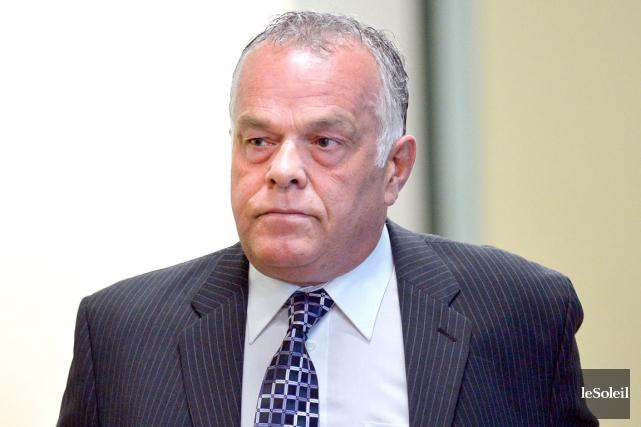 L'ex chef de police de Levis, Jean-Francois Roy... (Le Soleil, Yan Doublet)