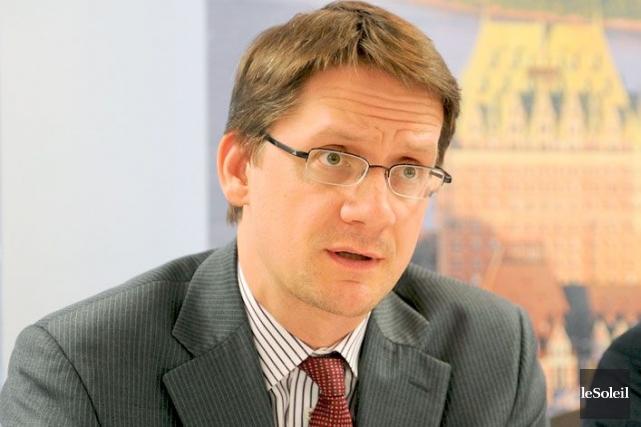 Le député péquiste Sylvain Gaudreault.... (PHOTO ERICK LABBÉ, LE SOLEIL)