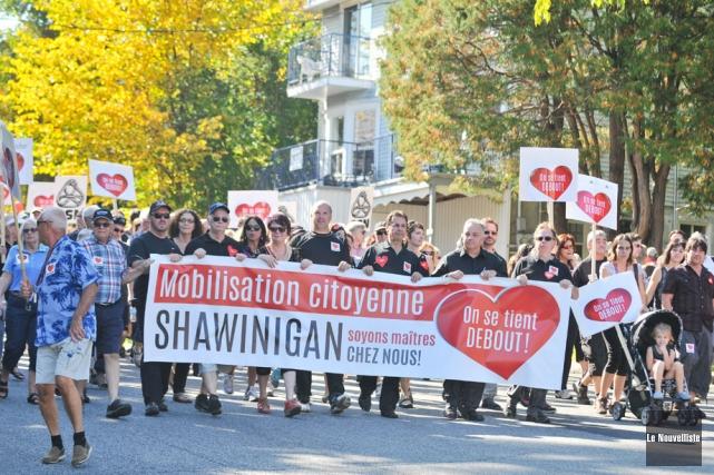 L'appel de Shawinigan semble avoir été entendu par... (Photo: Émilie O'Connor, Le Nouvelliste)