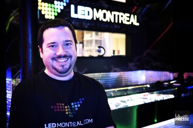 Alexis Miville-Deschênes, fondateur et copropriétaire de NeoMagnetic, a... (Photo Bernard Brault, La Presse)