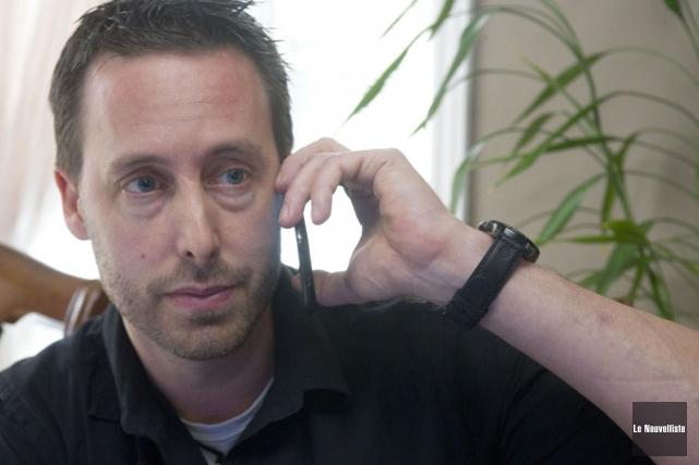 Le coordonnateur de la Coalition d'aide aux victimes... (Photo: Stéphane Lessard, Le Nouvelliste)