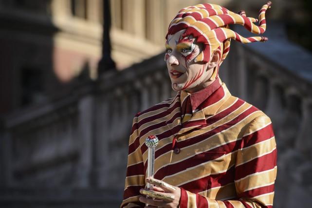Le Cirque du Soleil présentera un spectacle-événement dans le cadre de... (Photo: AFP)