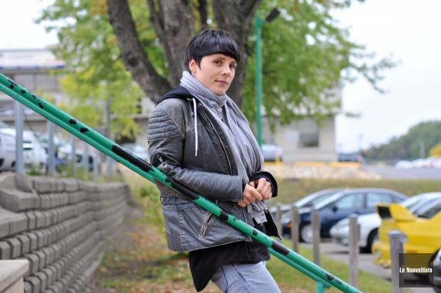 Plus mature, plus confiante en ses moyens, Pascale... (Photo: Émilie O'Connor, Le Nouvelliste)