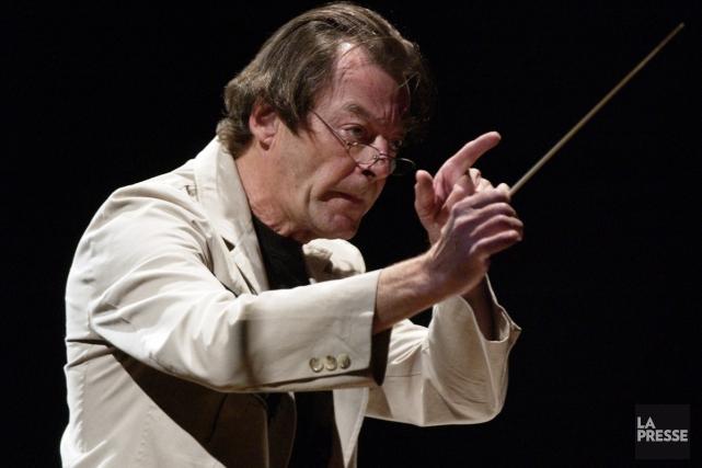 Walter Boudreau est l'un des 16 compositeurs québécois... (PHOTO ARCHIVES LA PRESSE)