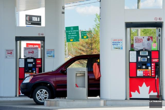 L'essence n'est pas un produit comme les autres:... (Archives La Tribune, Jessica Garneau)