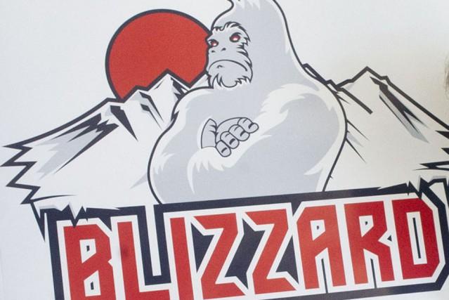 Les week-ends se suivent mais ne se ressemblent pas pour le Blizzard Cloutier... (Blizzard logo)