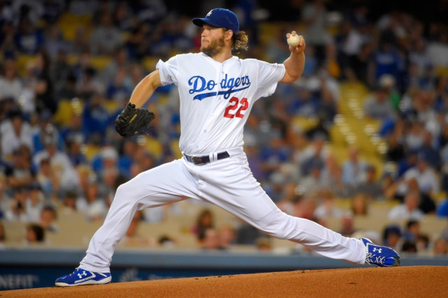 L'as lanceur des Dodgers de Los Angeles, Clayton... (Photo Mark J. Terrill, archives AP)