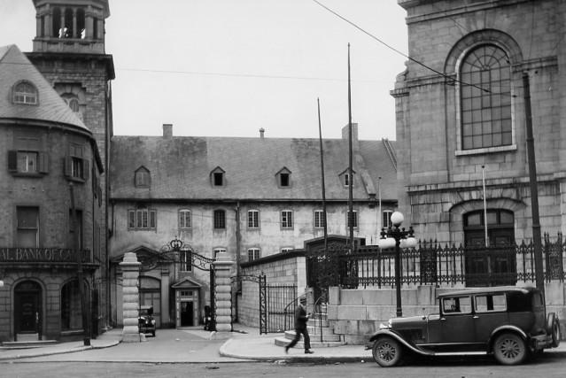 Le Séminaire de Québec en 1928... (Archives Ville de Québec N017682)