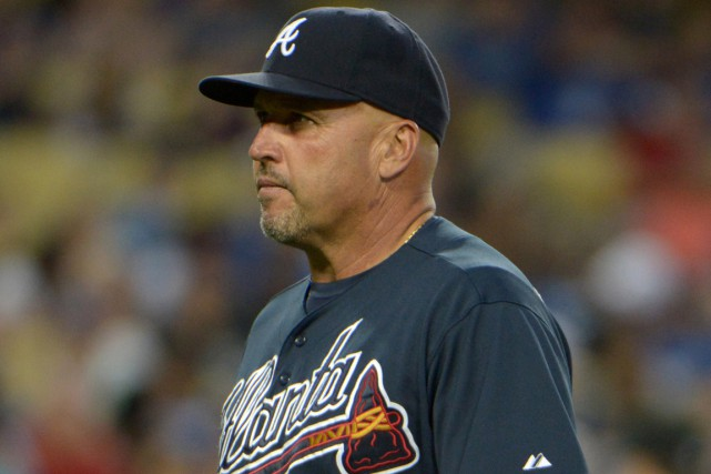 Le gérant des Braves d'Atlanta, Fredi Gonzalez.... (Photo Kirby Lee, archives USA Today)