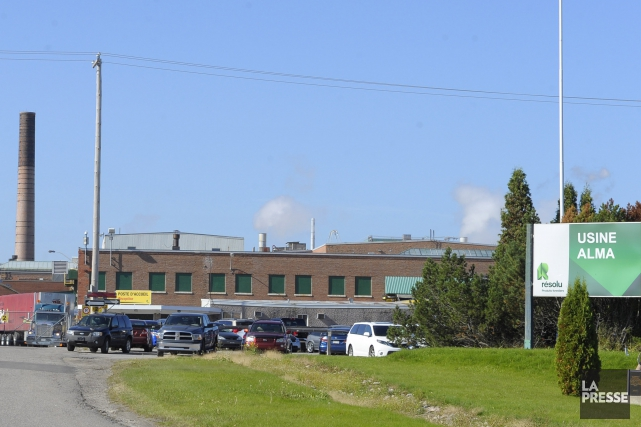 Les usines d'Amos, en Abitibi-Témiscamingue, et d'Alma (sur... ((Photo Gimmy Desbiens))