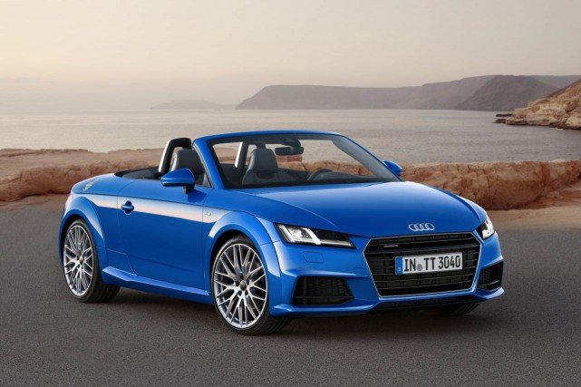 L'Audi TT Roadster 2015... (Photo fournie par Audi)