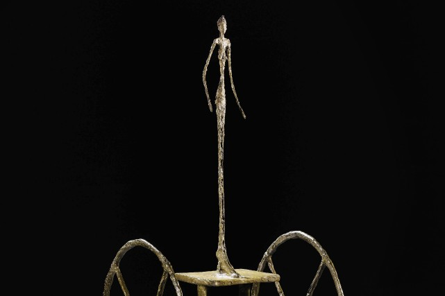 Le «Chariot» de Giacometti... (Photo Sotheby's, AP)