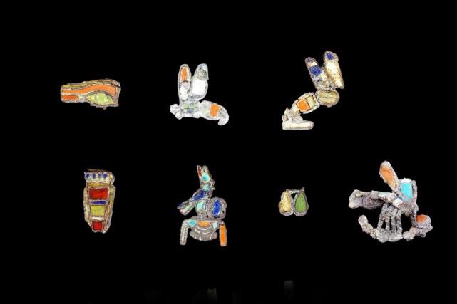 La collection du Trésor de Harageh comprend 37... (Photo AP)