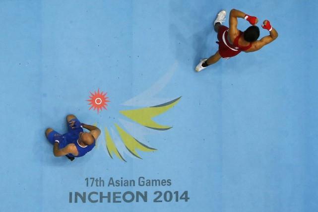 L'une des épreuves des Jeux asiatiques.... (Photo Reuters)