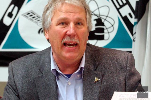 Renaud Gagné, directeur adjoint du syndicat Unifor, espère... (Photothèque Le Soleil, Pascal Ratthé)