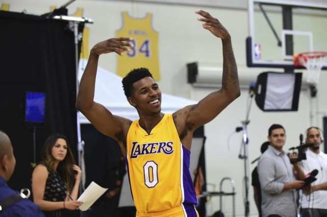 Nick Young... (PHOTO FREDERIC J. BROWN, AFP)