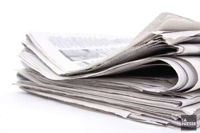 La presse écrite devrait recevoir une bouffée d'air frais, lundi, alors que... (Photo Archives La Presse)
